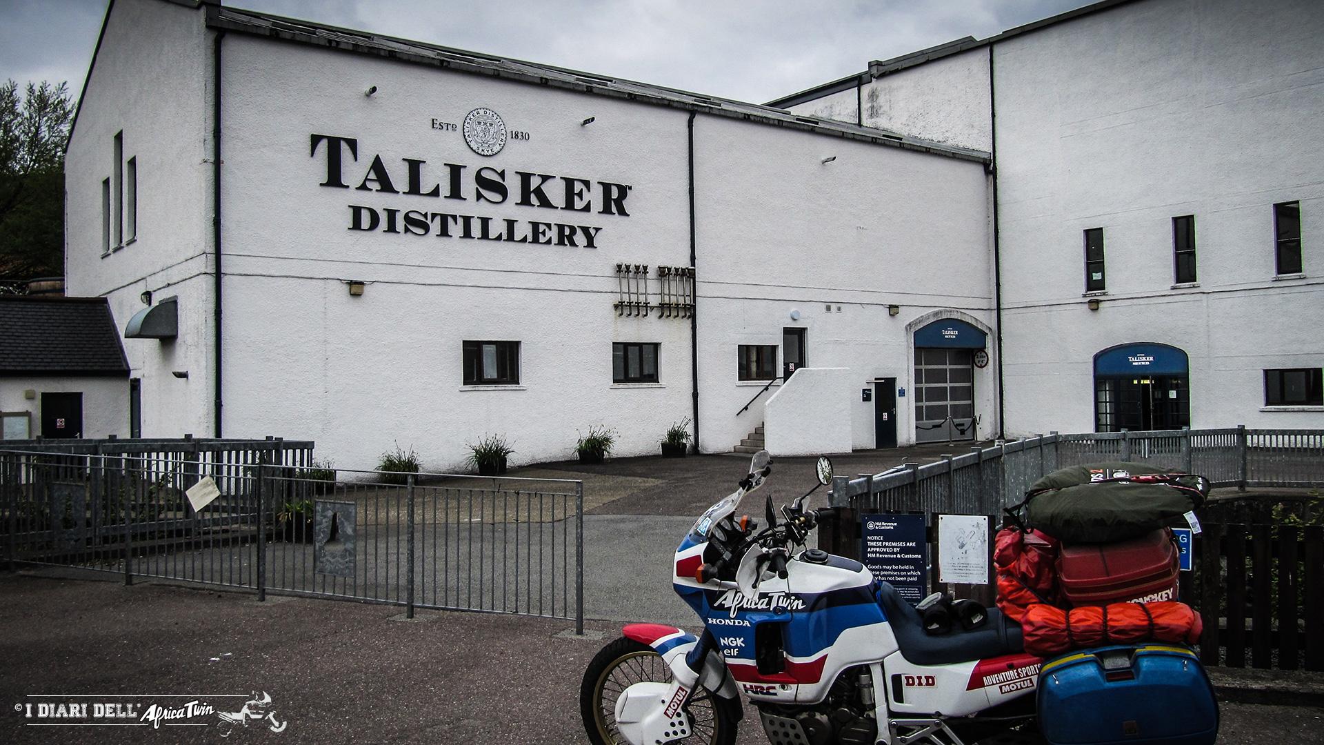 Talisker distillery, l'unica dell' isola di Skye
