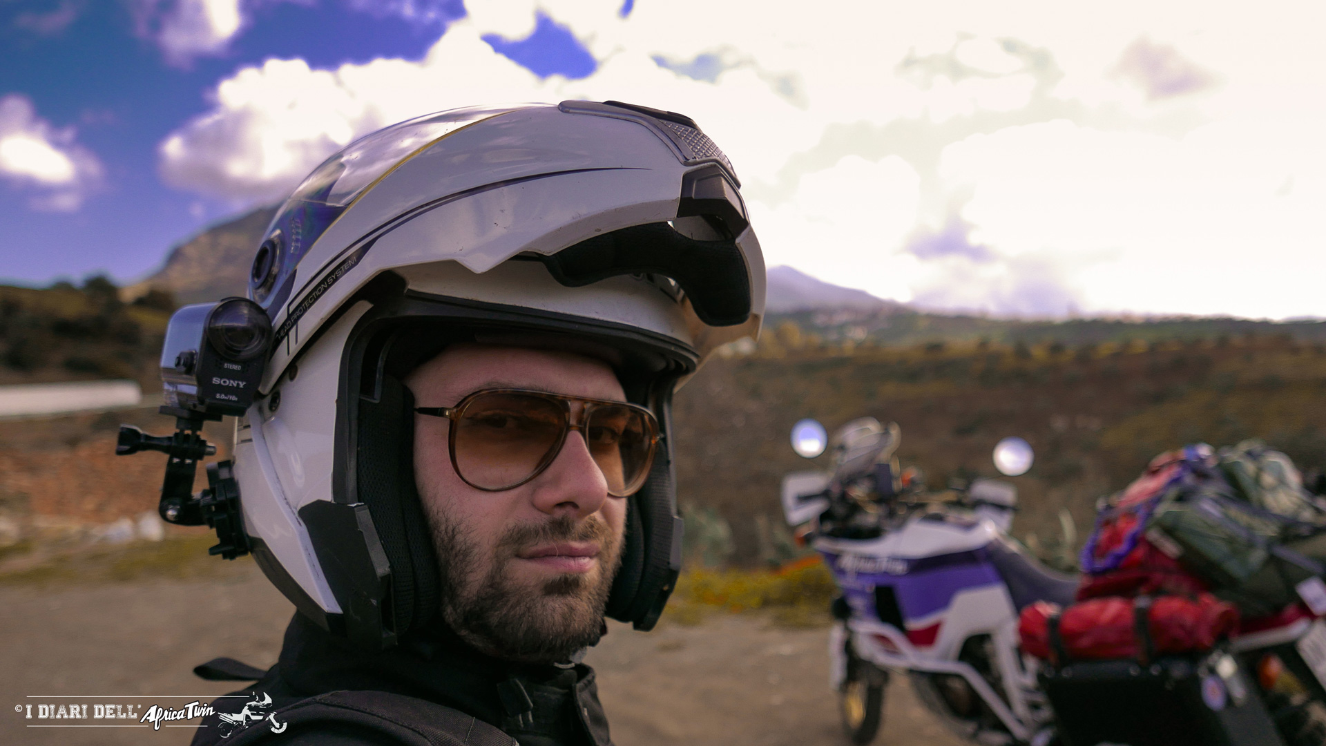 Primi chilometri in terra marocchina