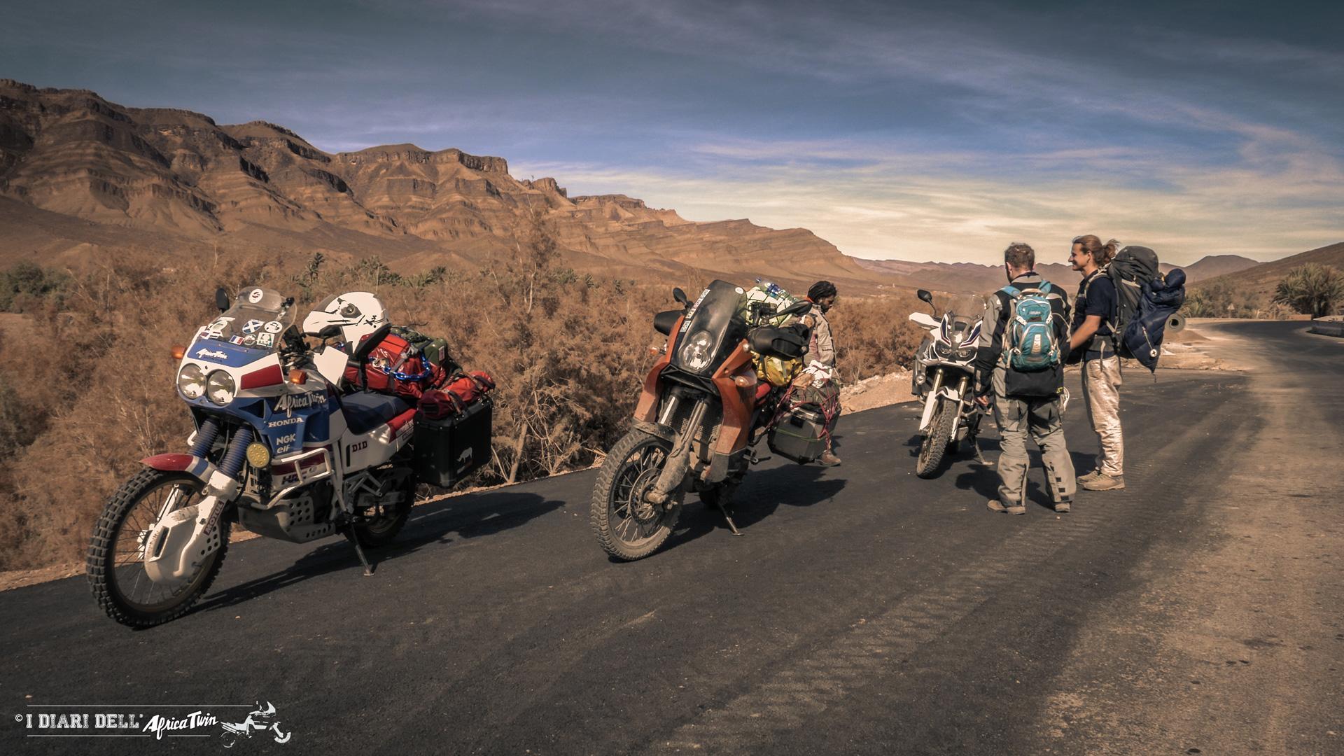 Incontri di viaggio nel deserto