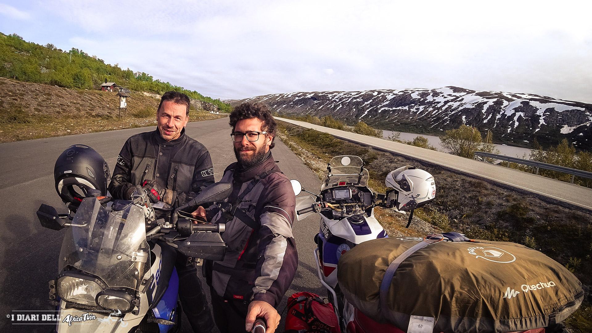 incontri di viaggio caponord in moto