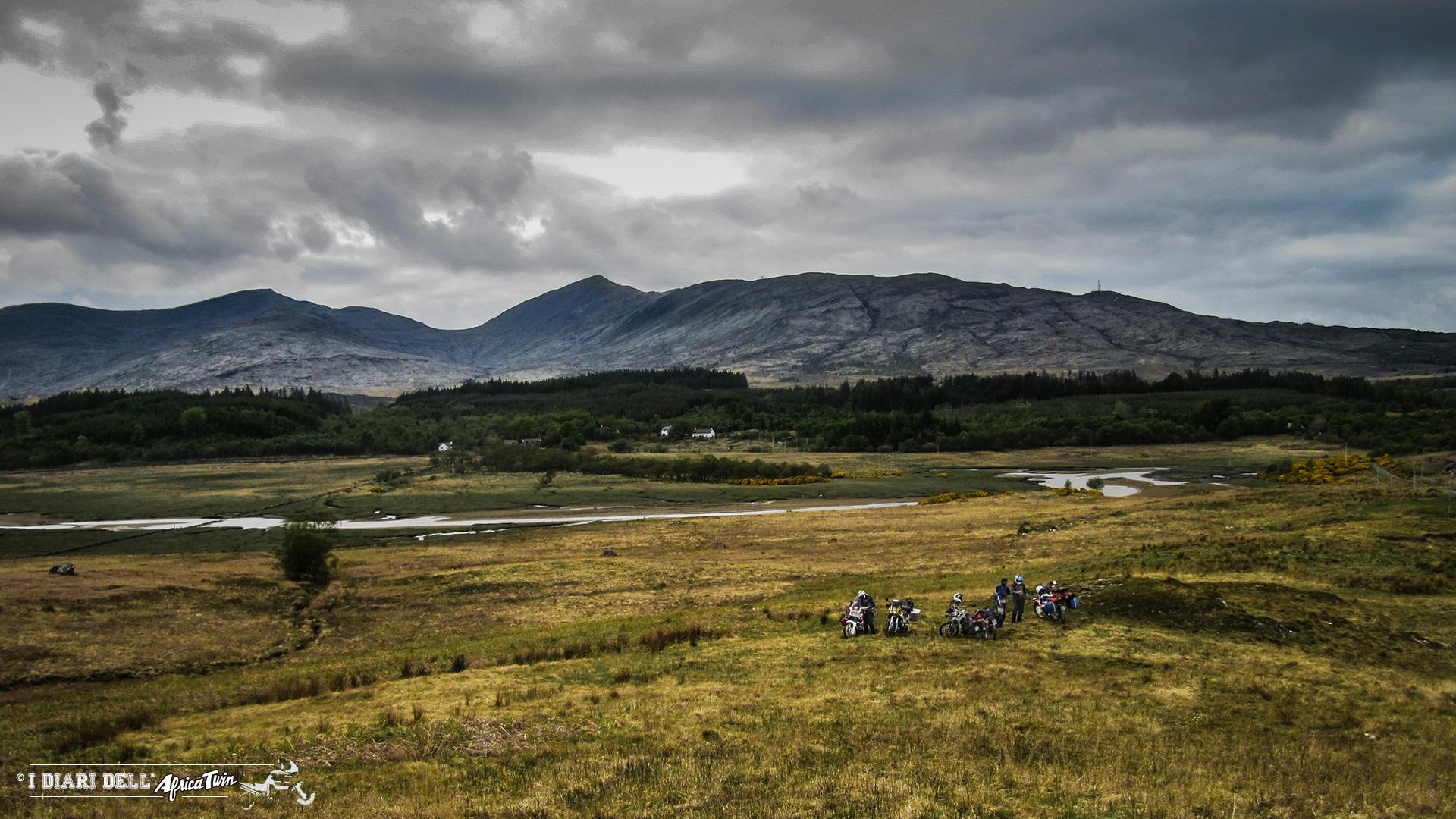 Wild camping - Highlands
