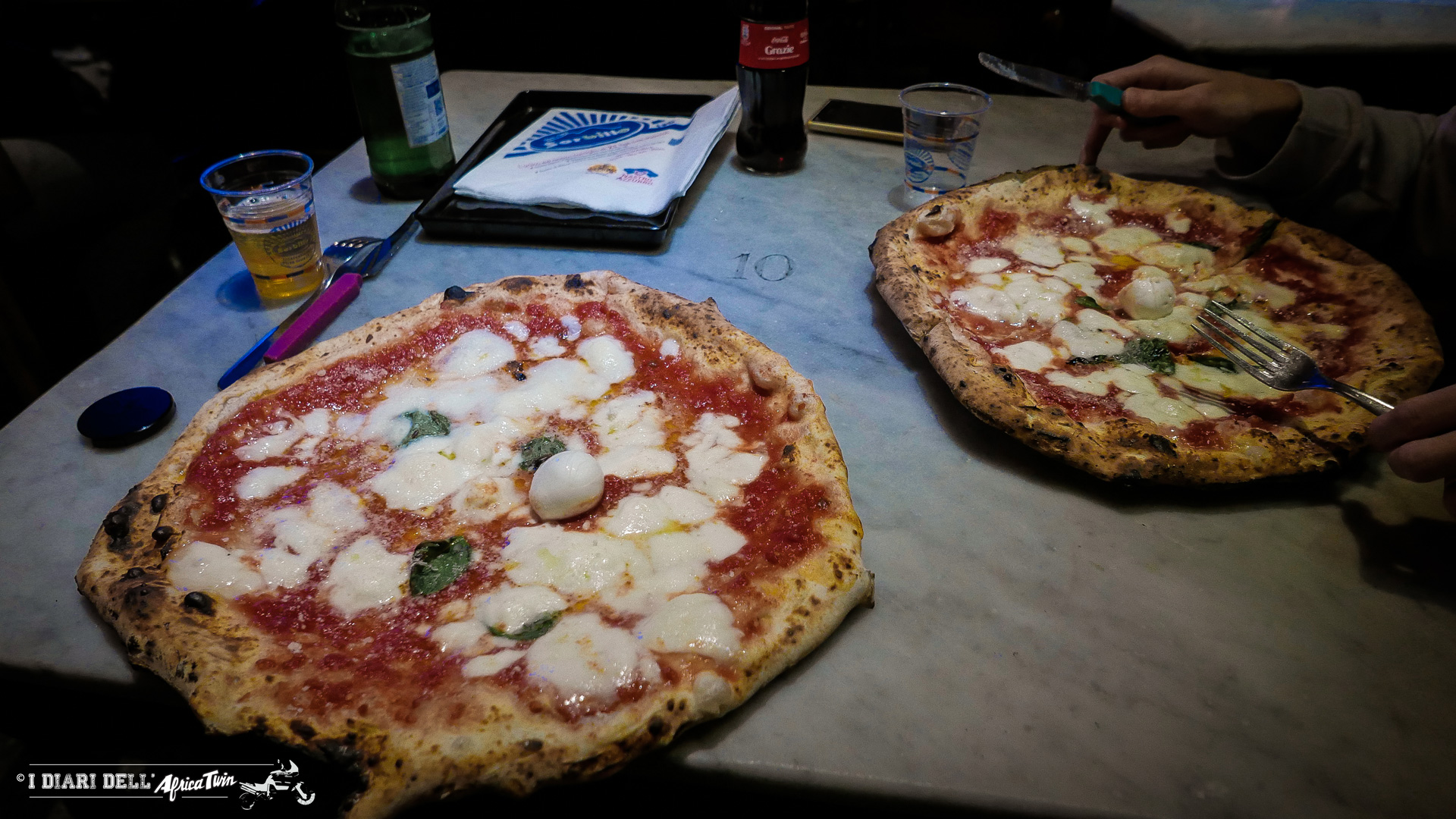 Le nostre pizze con mozzarella di bufala DOP